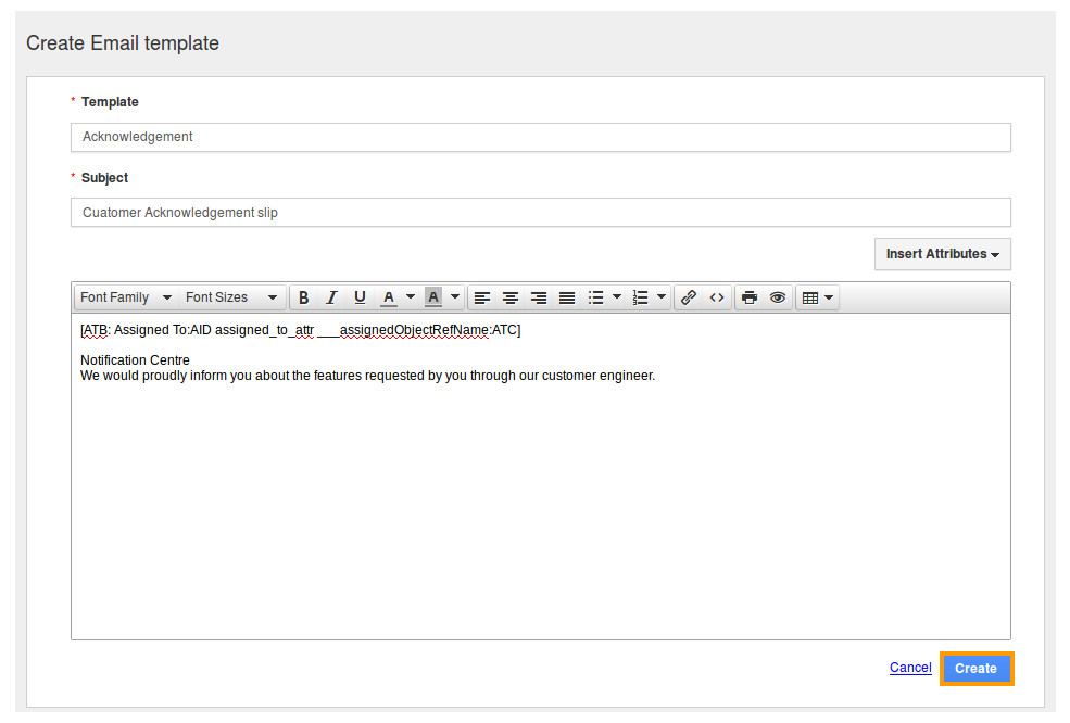 Customized Email Templates How Do I Create Custom Email Templates In Crm Apps