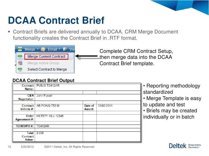 Dcaa Contract Brief Template Dcaa Contract Brief Template Templates Resume Examples