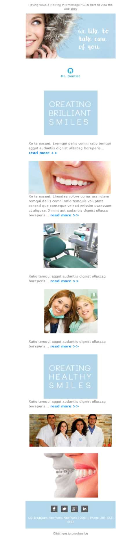 dentist smile