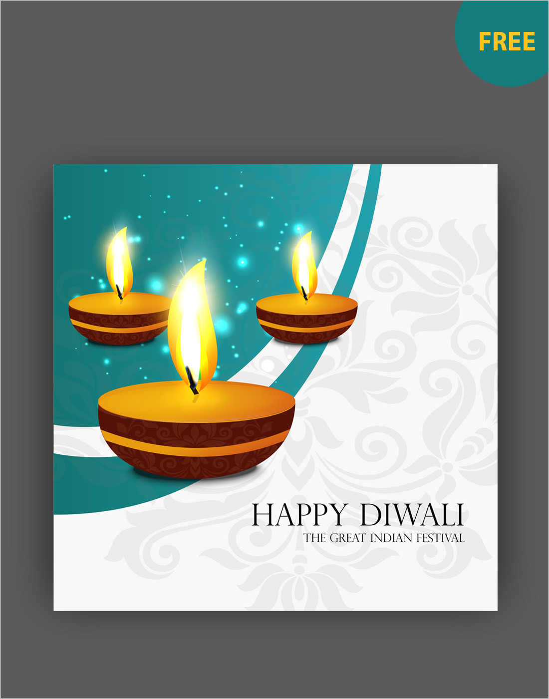 diwali vector art templates