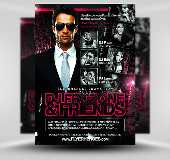 free flyer psd templates