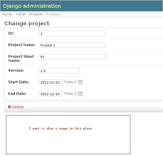 how to modify the admin template in django