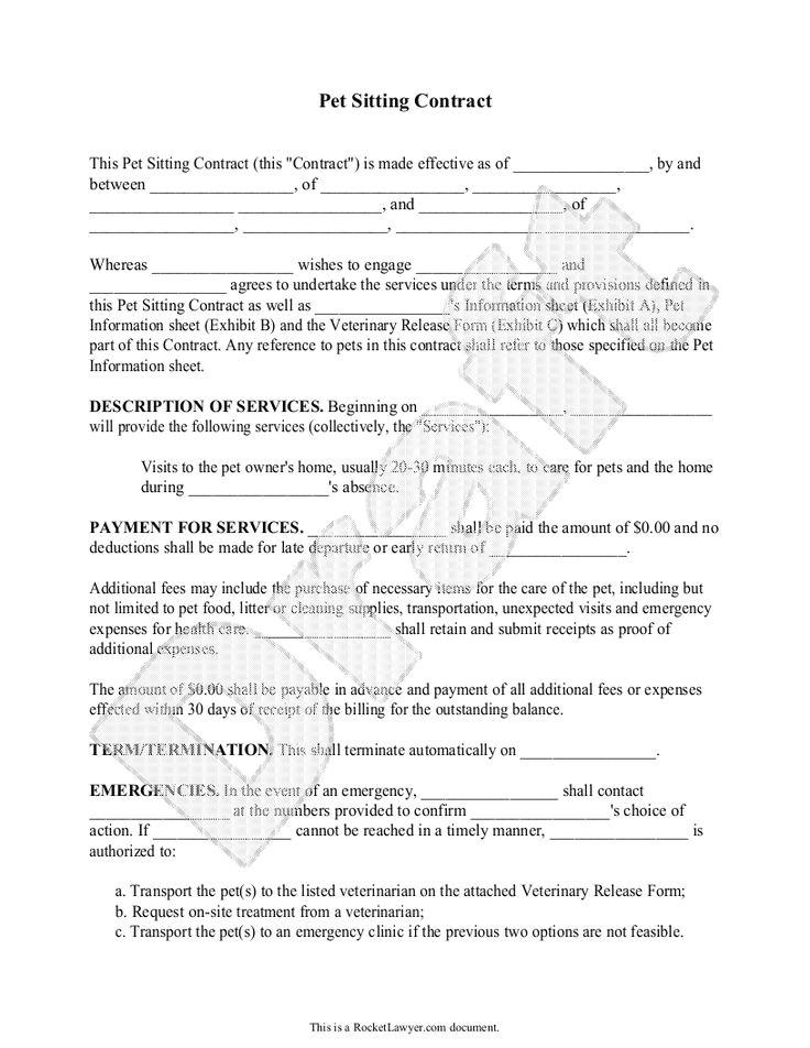 Dog Walking Contract Template 161 Best Images About Pet Sitting On Pinterest House