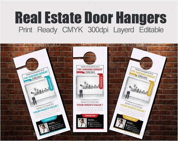 door hanger design