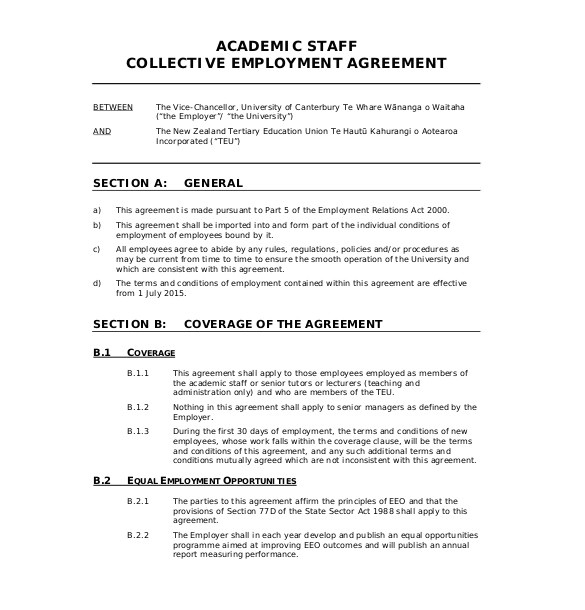 Draft Contract Of Employment Template 32 Employment Agreement Templates Free Word Pdf format