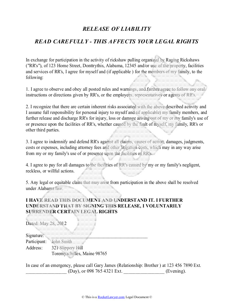 sample employment contract rl