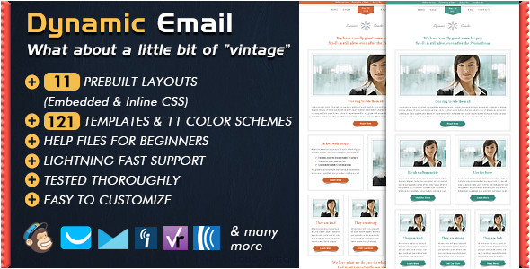 Dynamic Email Template Dynamic Email Template by Bedros themeforest