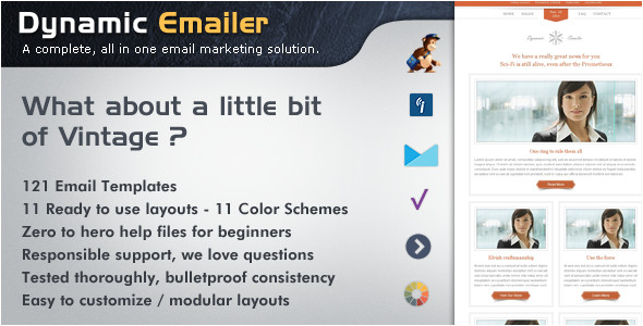 dynamic emailer premium email template