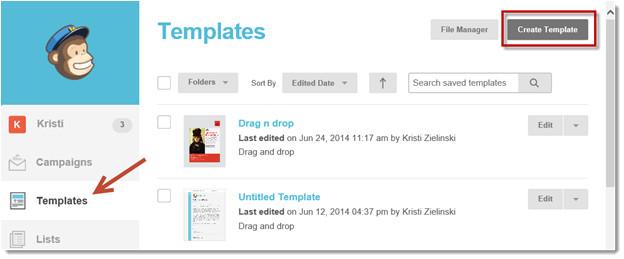 easily create html emails microsoft dynamics crm via mailchimp