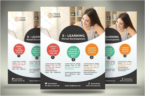 1110943 e learning flyer