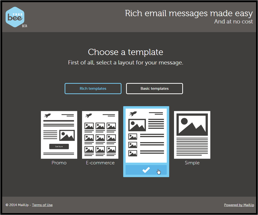 free online email editor html responsive design beefree mailup