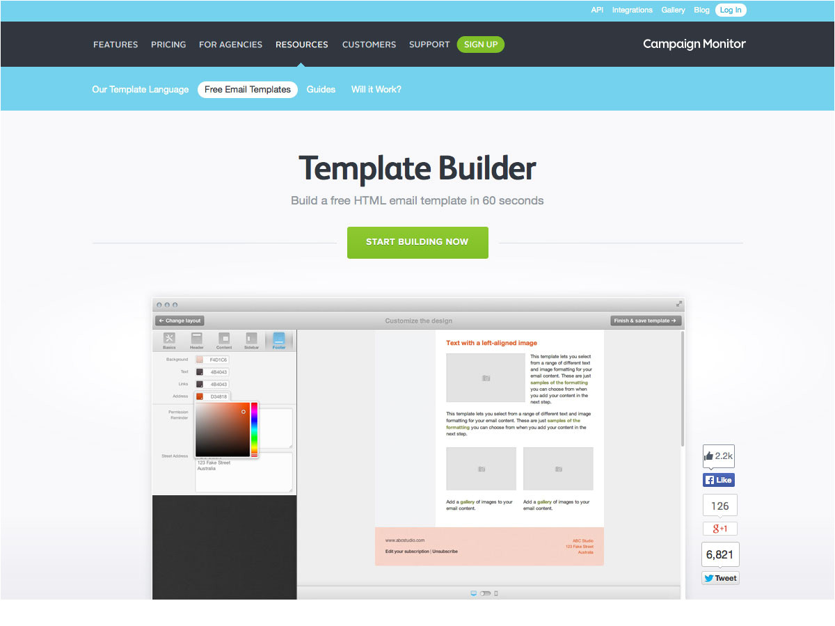 Easy Email Template Builder the Ultimate Guide to Email Design Webdesigner Depot