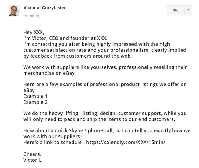 email scripts grow ebay business