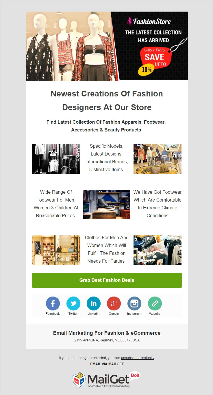 best ecommerce email templates