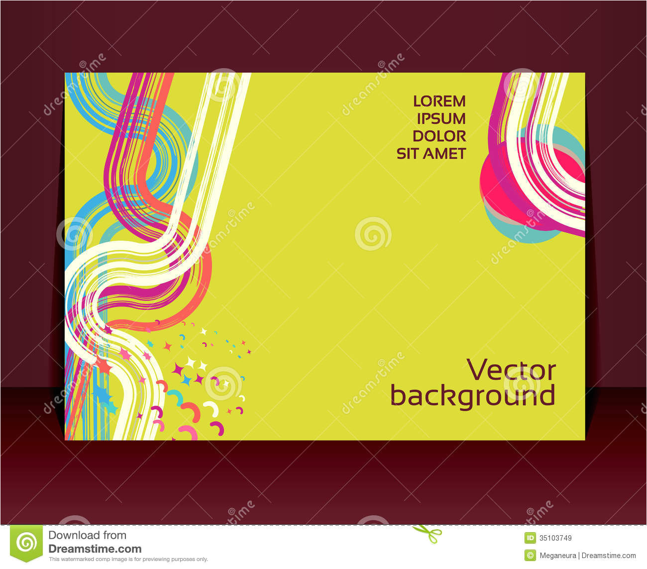 royalty free stock images flyer leaflet booklet layout editable design te template eps vector transparencies used image35103749