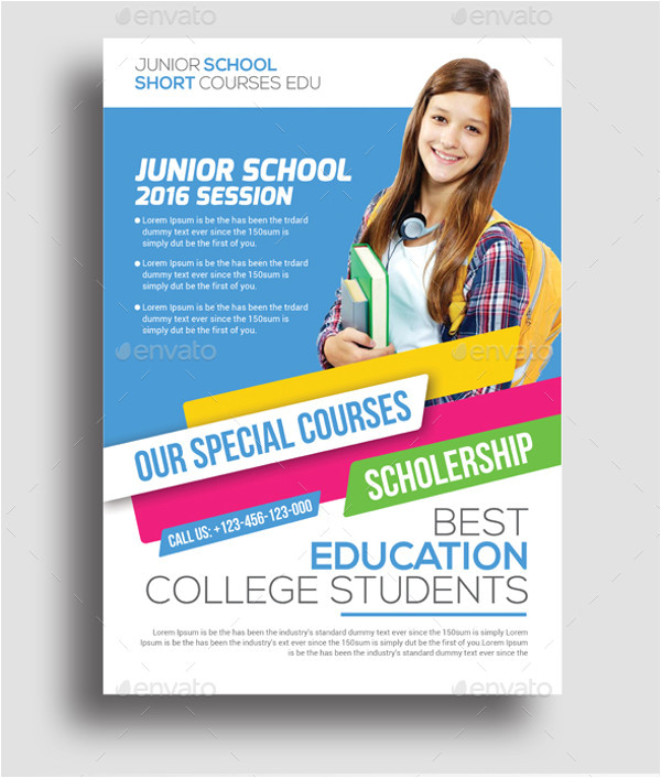 Education Flyer Templates Free Download 35 Amazing Education Flyer Templates Creatives Psd