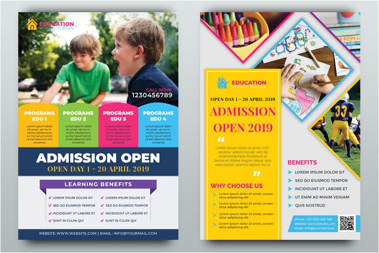 149589 education flyer templates