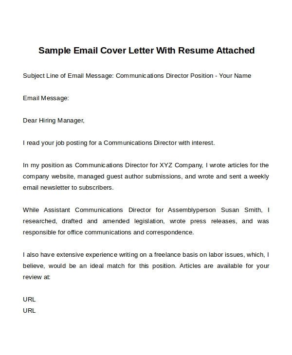 cover letter templates free