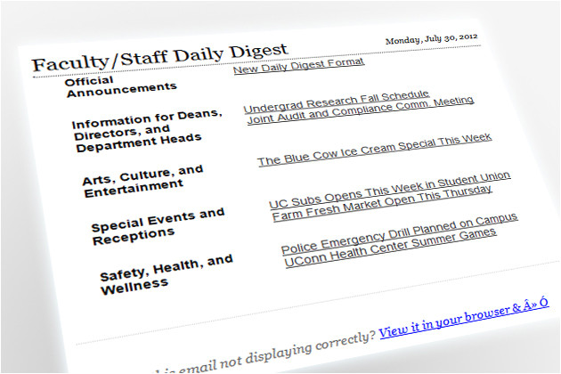 new format new deadline for daily digest
