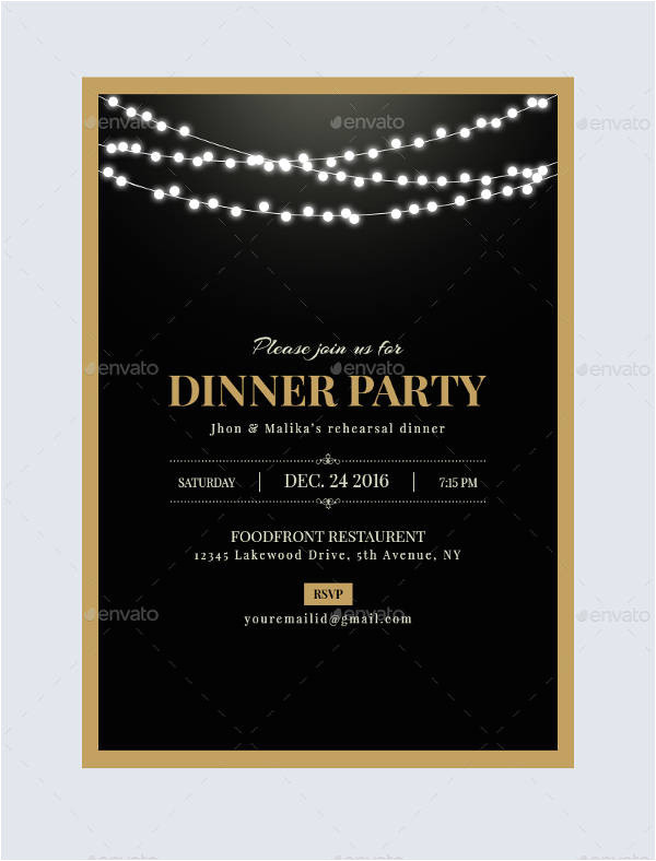 Email Dinner Invitation Template 47 Dinner Invitation Templates Psd Ai Free Premium