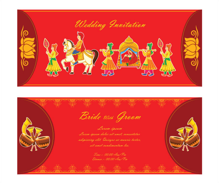 indian wedding invitation templates 0037517
