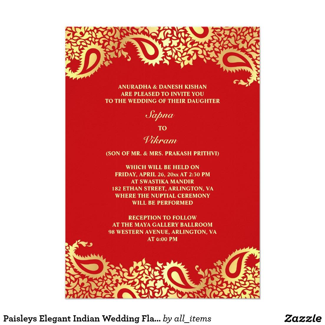 indian wedding invitations templates
