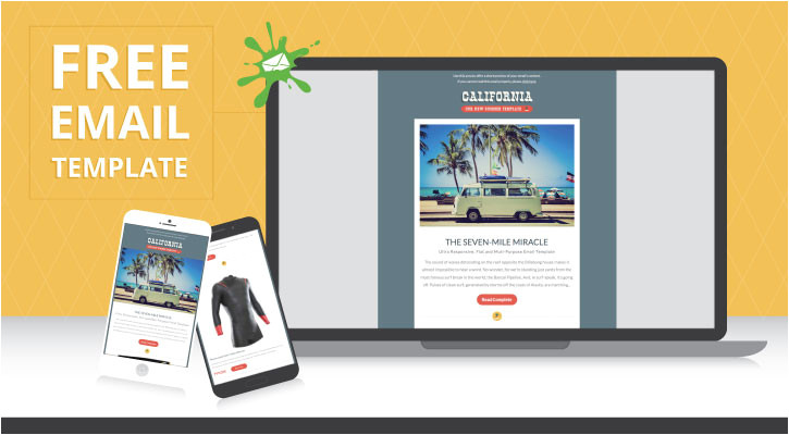make your next email campaign sizzle with this free fluid hybrid template