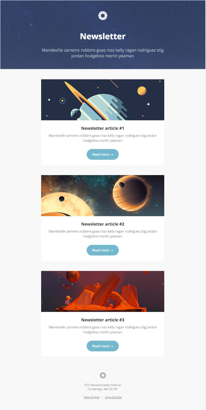 Email Newsletter Template software 13 Of the Best Email Newsletter Templates and Resources to