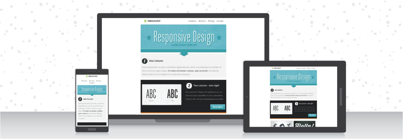 free email templates with responsive designs