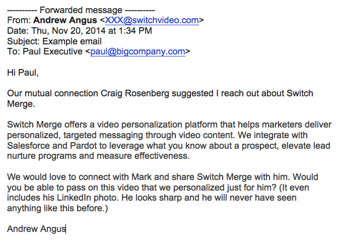 sales prospecting emails