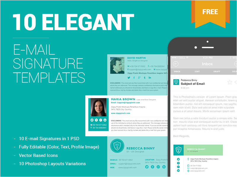 2348667 10 free email signature templates