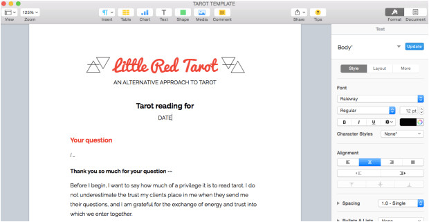 Email Tarot Reading Template Q A How to Do Email Tarot Readings Little Red Tarot