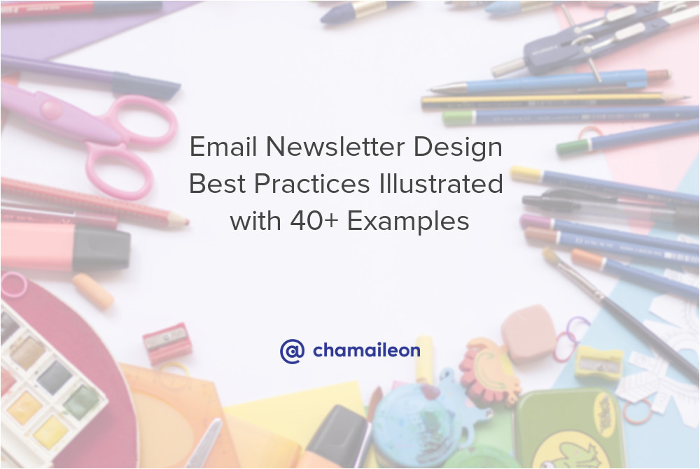 email newsletter design best practices