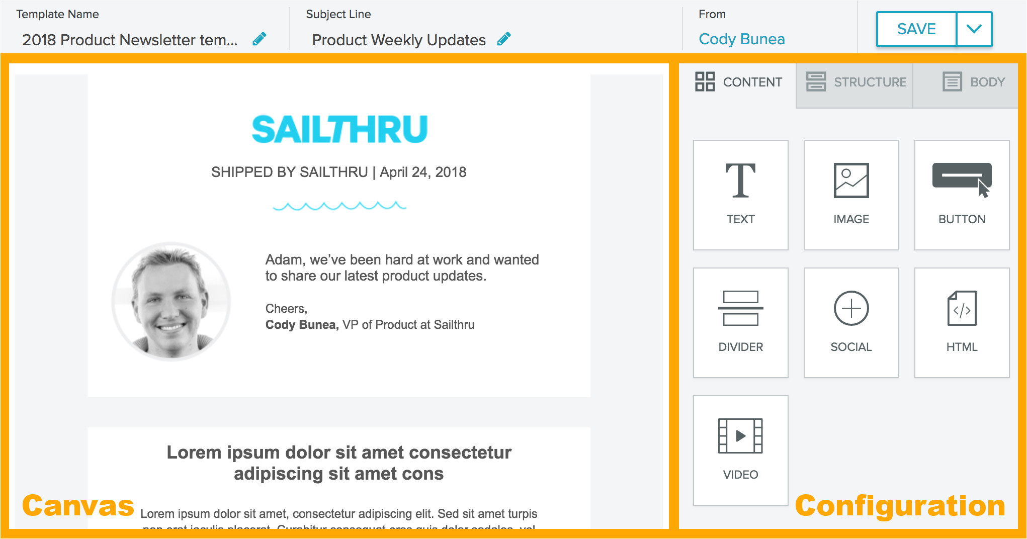 email composer