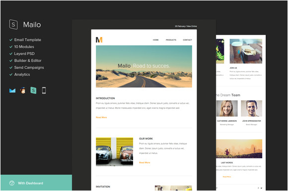 42725 mailo email template builder