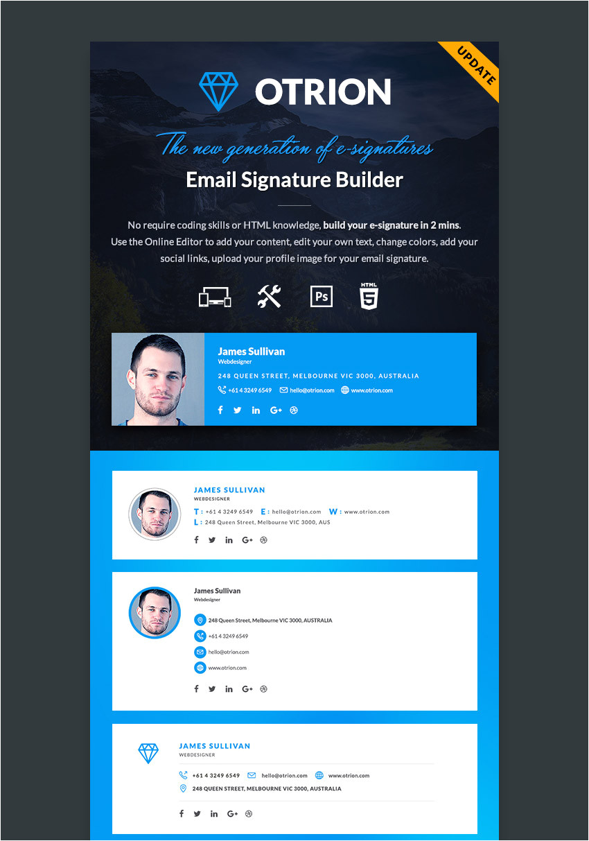 professional email signature templates cms 28139