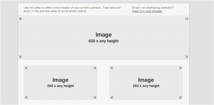 Email Template Dimensions 30 Free Responsive Email and Newsletter Templates