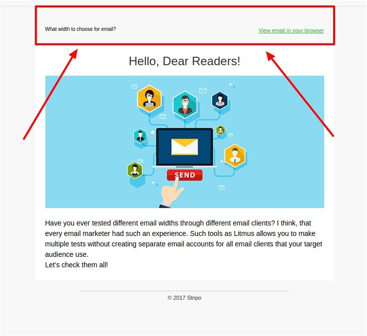 email template size width height