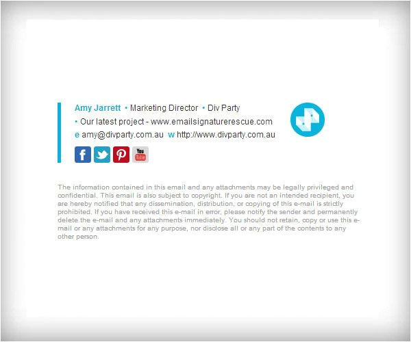 Email Template Footer Examples 19 Best Email Signatures Images On Pinterest Email