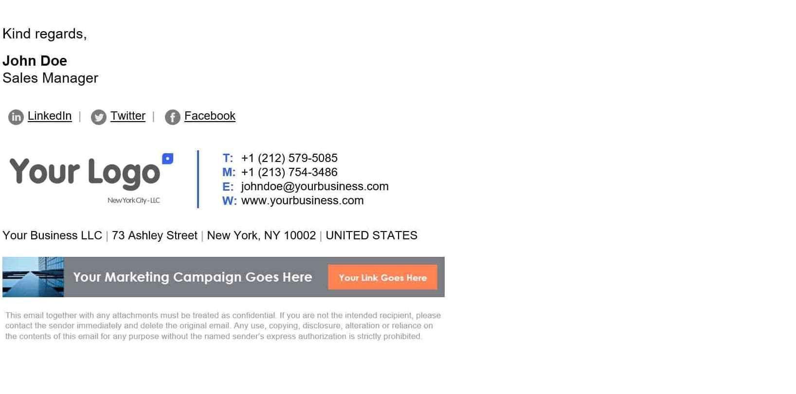 best email signature design