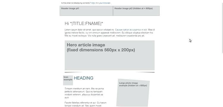 Email Template Grid Psd Email Template Grid Psd Citycafe Info
