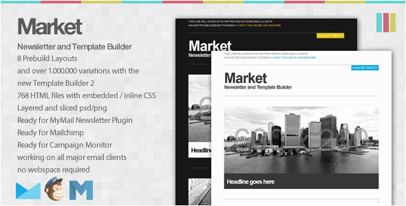 7 most beautifully designed email newsletter templates