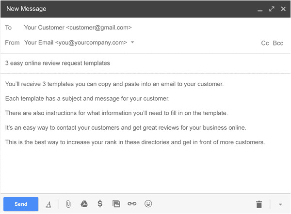 Email Template Review Request Free Review Request Email Templates Get More Online Reviews