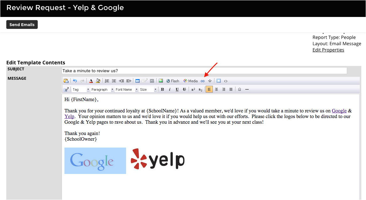208401638 using the review request yelp google document template