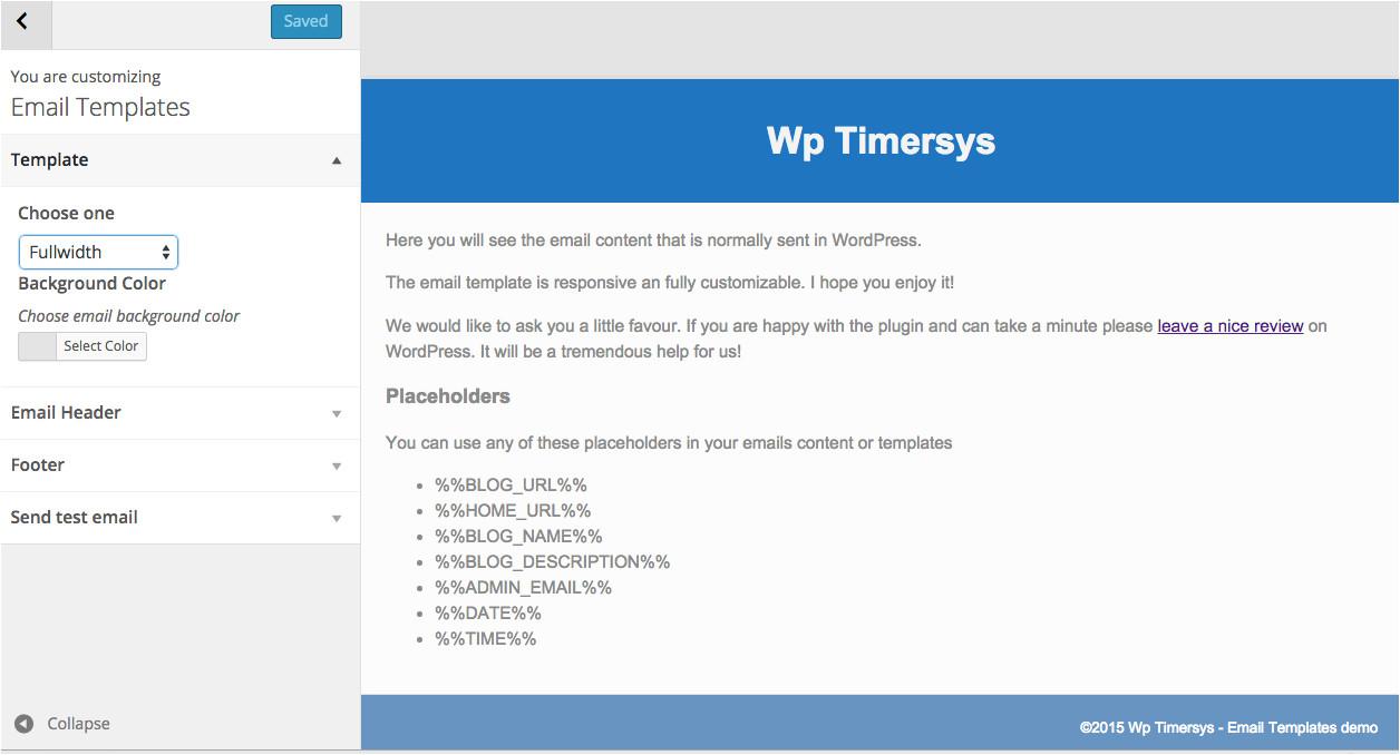 Email Templates for WordPress Email Templates WordPress Plugin WordPress org