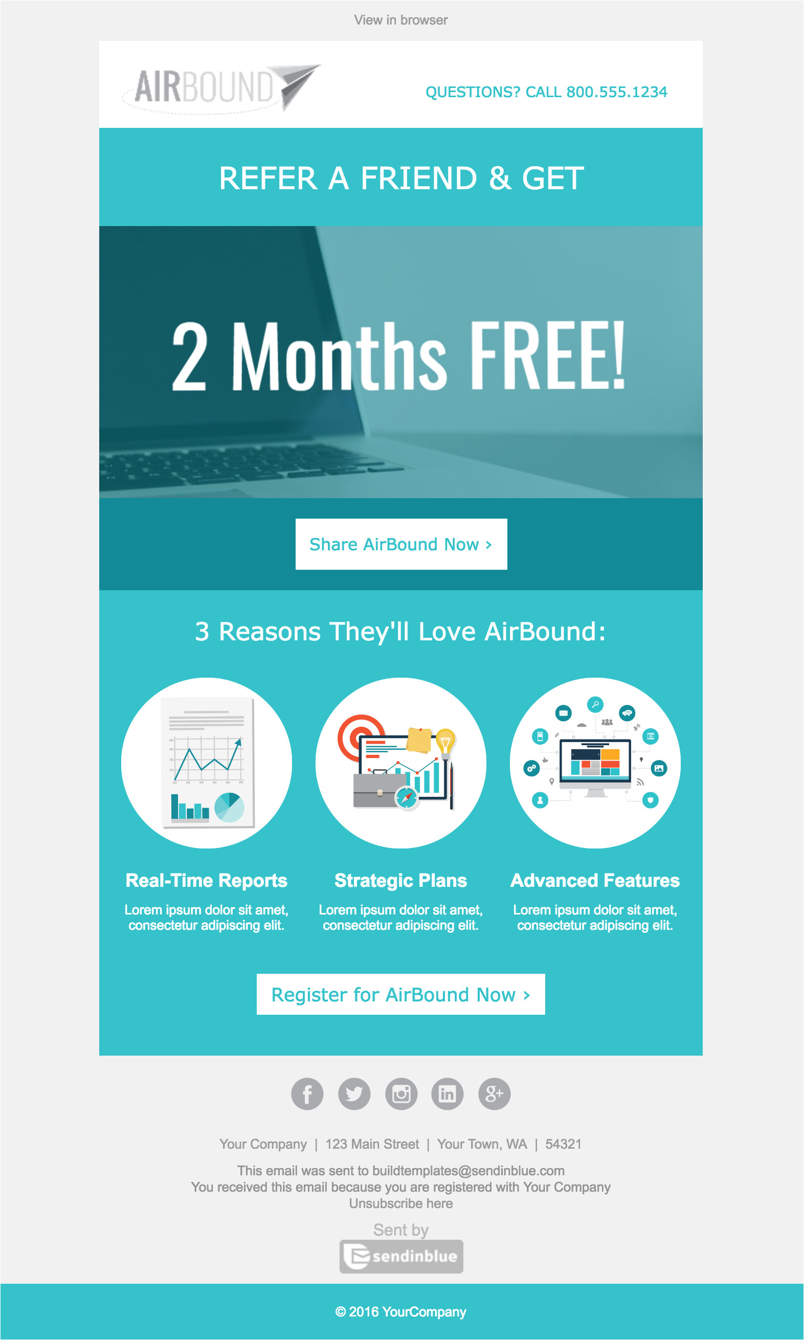 free b2b email templates