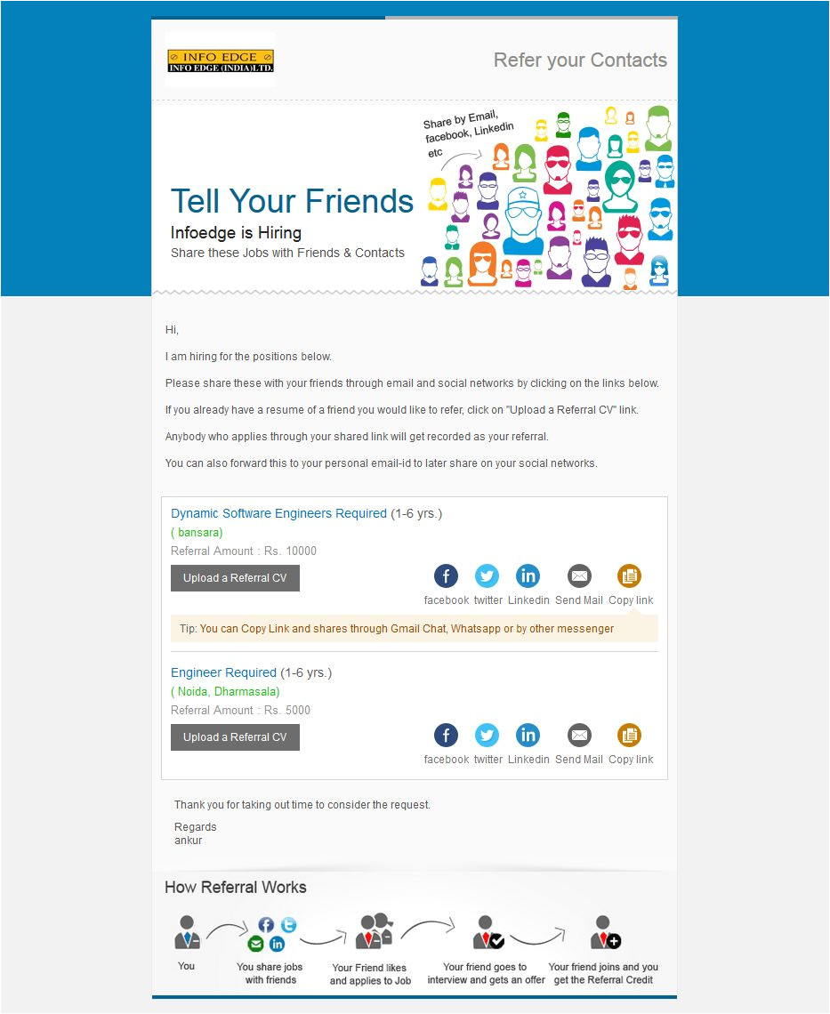 sample referral mailers