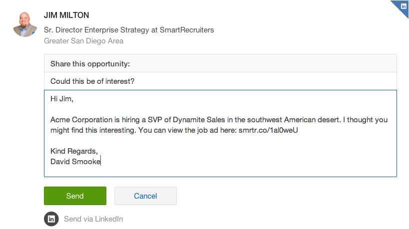 employee referrals via social media