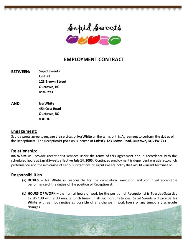 employment contract 48125013