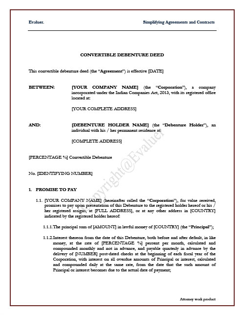 contract employee agreement sample india